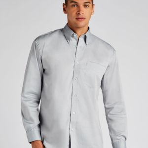 Kustom Kit Men's Long Sleeve Corporate Oxford Shirt. **10 days delivery period. Thumbnail