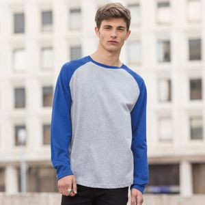 SF Men L/S Baseball T. **10 days delivery period. Thumbnail