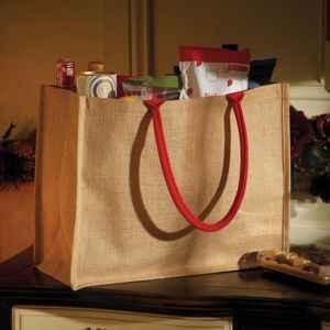 Westford Mill Classic Jute Shopper **10 days delivery period. Thumbnail