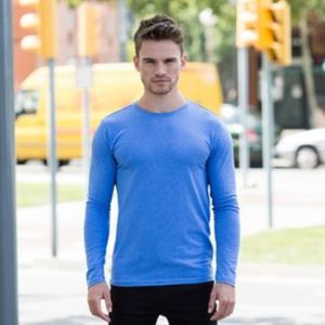 SF men Feel good long sleeved stretch t-shirt.**10 days delivery period. Thumbnail
