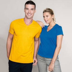 Kariban Men V Neck T-Shirt.**12 days delivery period. MOQ 25pcs Thumbnail