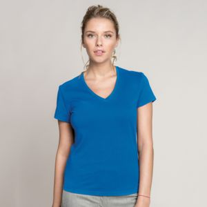 Kariban Ladies V Neck T-Shirt.**12 days delivery period. MOQ 12pcs Thumbnail