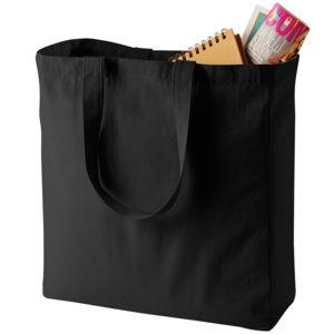 Quadra heavy duty Canvas Classic Shopper. Thumbnail