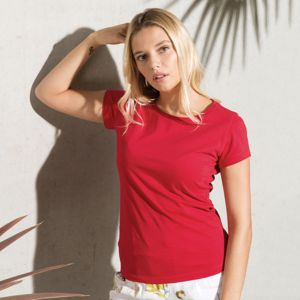 Kariban Women's Organic cotton crew neck t-shirt.**12 days delivery period. MOQ 12pcs Thumbnail