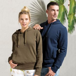 Kariban unisex Organic hoodie.**10 days delivery period. Thumbnail