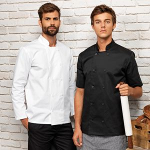 Premier Long sleeve chef's jacket.**10 days delivery period. MOQ 10pcs Thumbnail