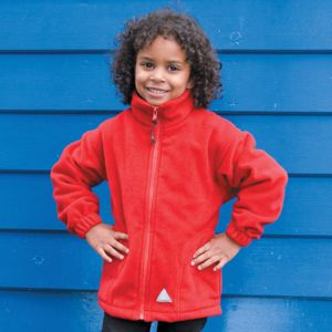 Result Children's Full Zip Active Fleece Jacket.**10 days delivery period. MOQ 25pcs Thumbnail