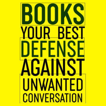 BOOKS YOUR DEFENCE Design