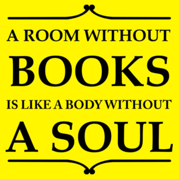 A ROOM WITHOUT BOOKS Design
