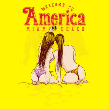 WELCOME TO AMERICA Design