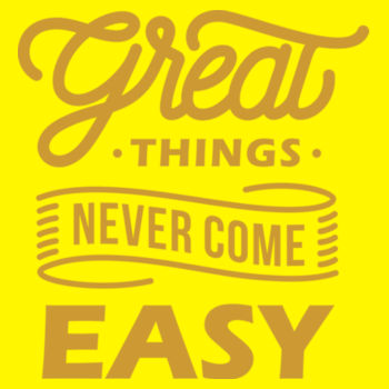 GREAT THINGS Design