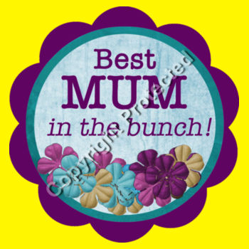 Best Mother in the Bunch Design