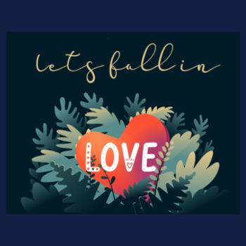 LET'S FALL IN LOVE Design