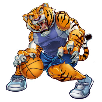 BASKETBALL TIGER Design