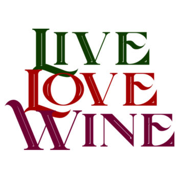 LIVE LOVE WINE Design