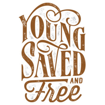 YOUNG SAVED AND FREE Design