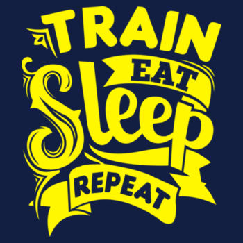 TRAIN EAT SLEEP Design
