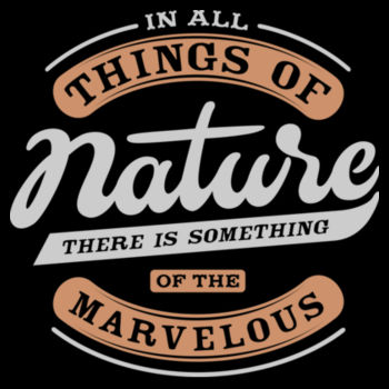 IN ALL THINGS OF NATURE Design