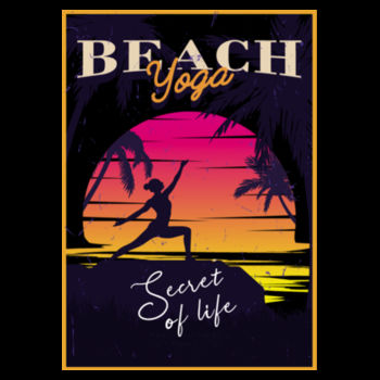 BEACH YOGA Design