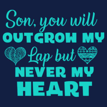 SON WILL OUTGROW MY LAP Design