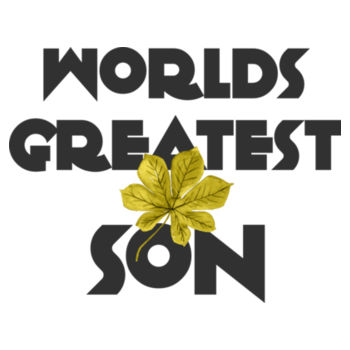 WORLD'S GREATEST SON Design