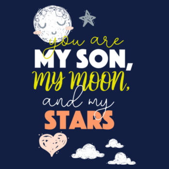 YOU ARE MY SON AND MOON Design