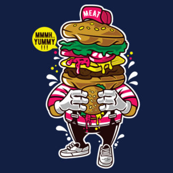 I LOVE BURGER Design