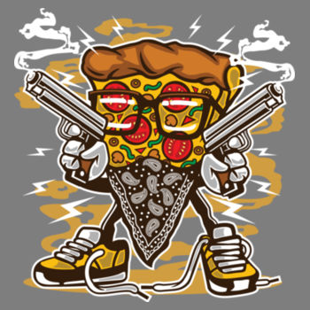 PIZZA GANGSTER Design