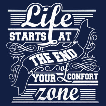 END OF COMFORT ZONE Design