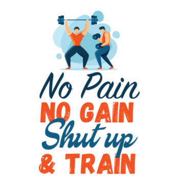 SHUT UP AND TRAIN Design